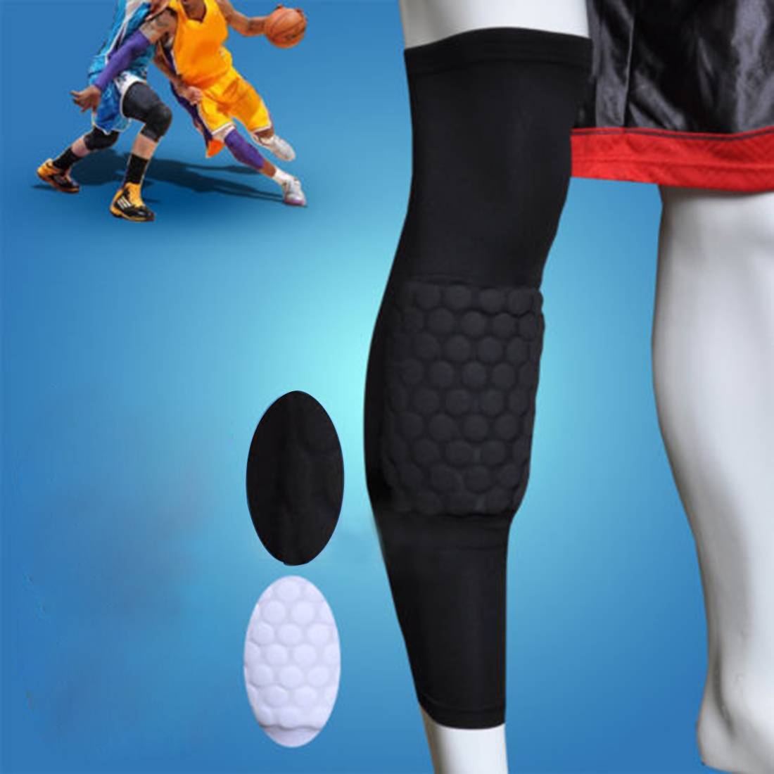 Basketball Knee Pads Upgrated Honeycomb Knee Pad
